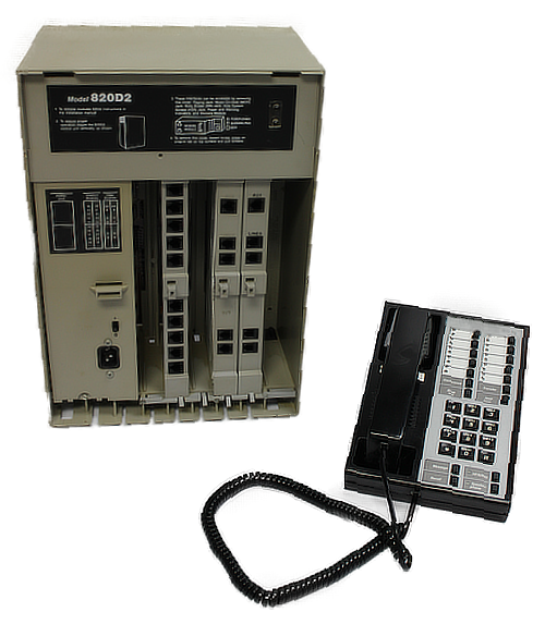 Merlin 820D2 Control Unit with Bis10 Phone 2